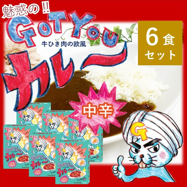 FM COCOLO 765 魅惑の Got You Osakaカレー 200g 6食入